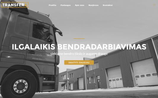 """Logistikos įmonė """"Transfera"""""""